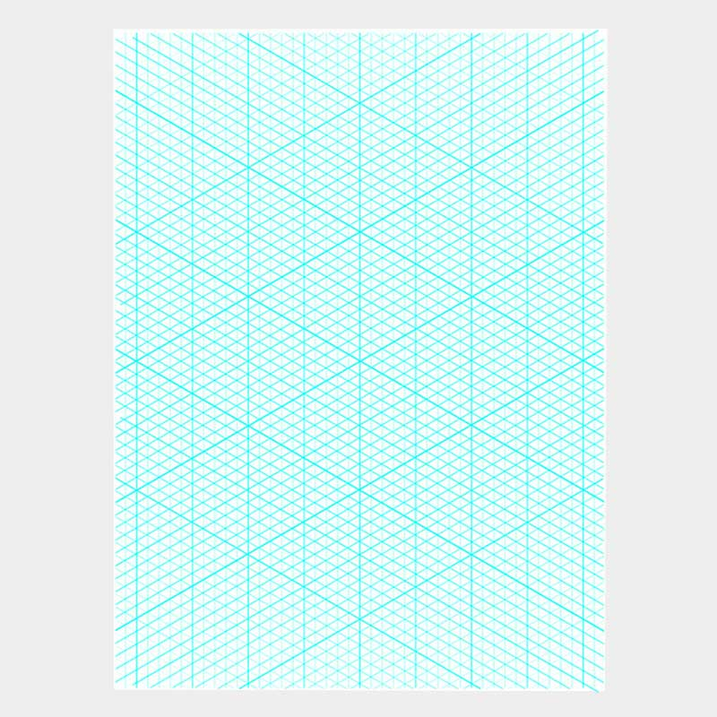 A4 Isometric Paper – The Kempis Group